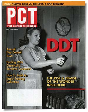 DDT effectively killed bed bugs.