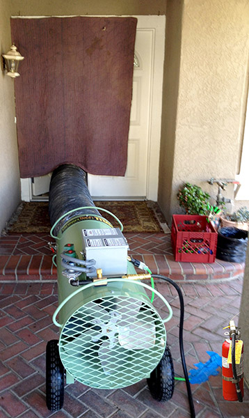 Bed Bug Heat Treatment Equipment Packages To Efficiently
