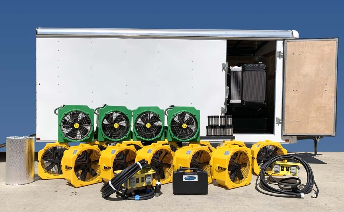Trailer Generator Package with 4 ePro 1400 52K Electric Bed